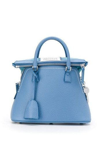 MAISON MARGIELA 5ac medium handbag coronet blue