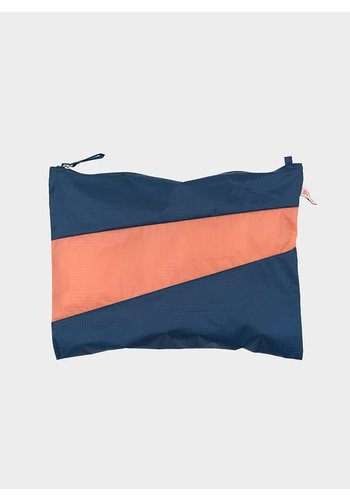 SUSAN BIJL large pouch midnight & lobster