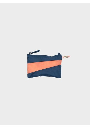 SUSAN BIJL small pouch midnight & lobster
