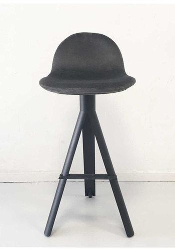 MAARTEN BAPTIST tube bar chair upholstered togo