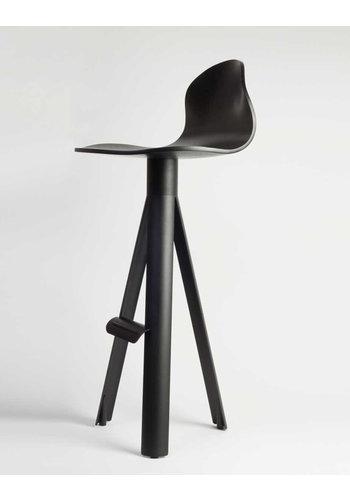 MAARTEN BAPTIST tube bar chair plywood seat