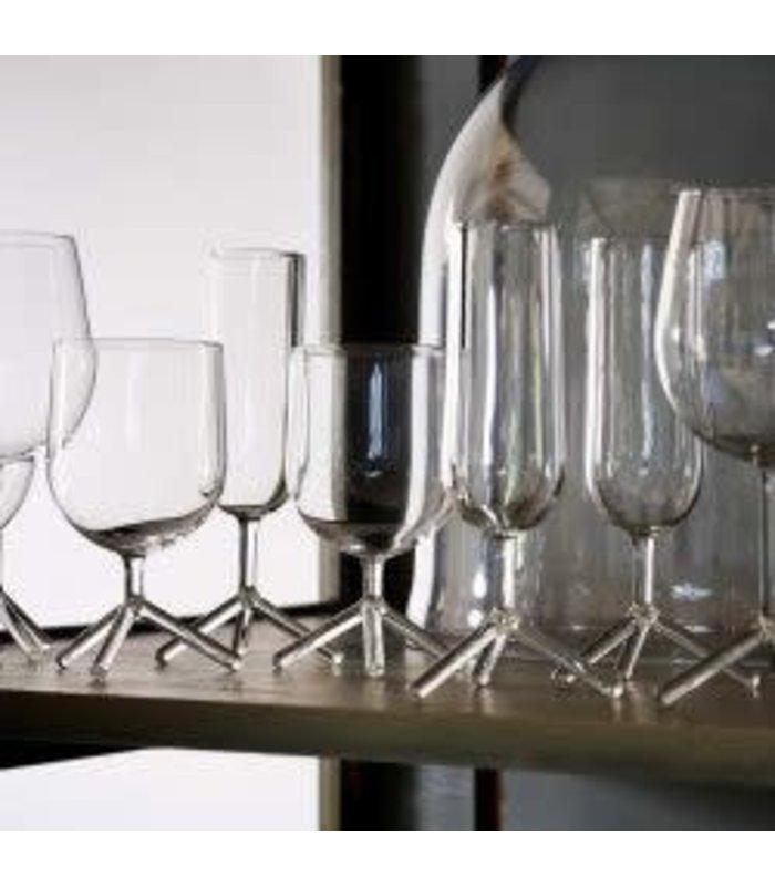 TRIPOD WHITE WINE GLASSES