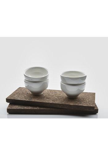 MAARTEN BAPTIST jade espresso cup gift set