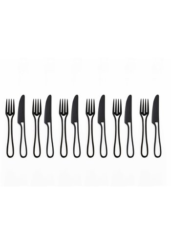 MAARTEN BAPTIST outline cutlery cake set 12 pcs