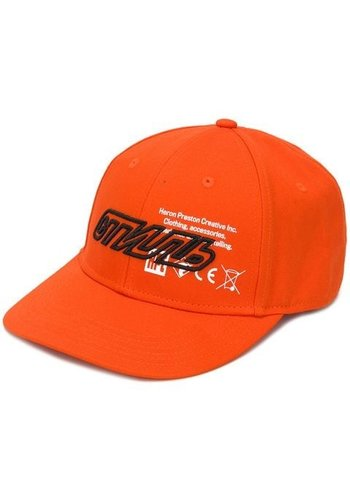 HERON PRESTON baseball cap orange