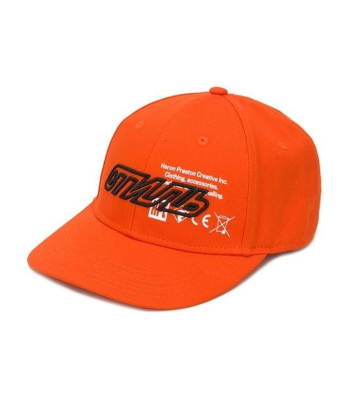BASEBALL CAP ORANGE