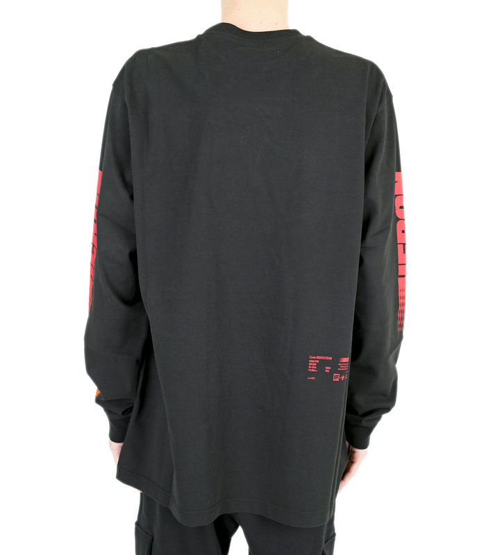 L/S RACING BLACK RED