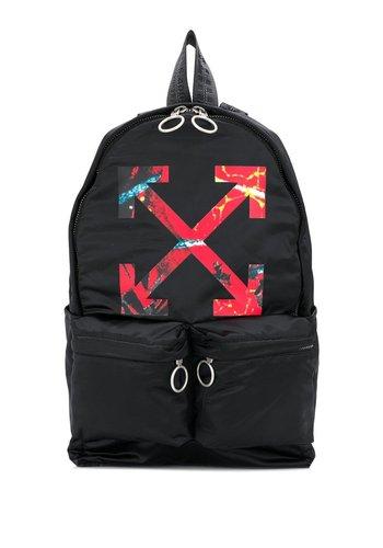 OFF-WHITE arrow backpack black