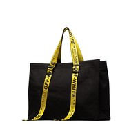 CANVAS TOTE BLACK