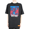 HERON PRESTON T-SHIRT REG RED BLUE BLACK
