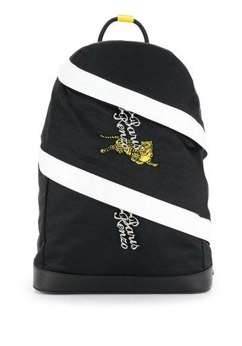 KENZO jumping tiger backpack black