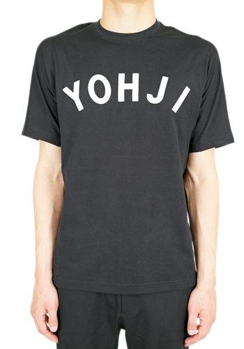 Y-3 yohji letters ss tee
