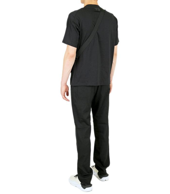 WOOL SAT. STRAIGHT PANT BLACK