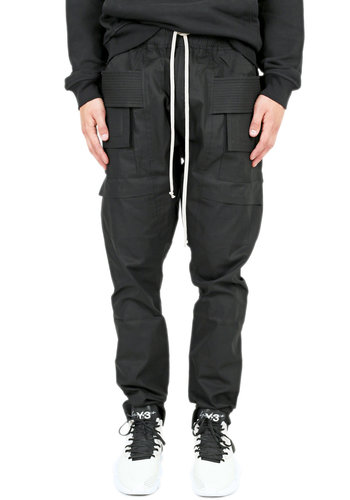 RICK OWENS DRKSHDW creatch cargo pants black