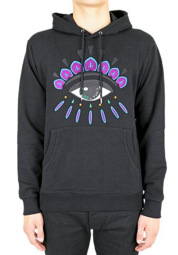 KENZO eye hoodie black