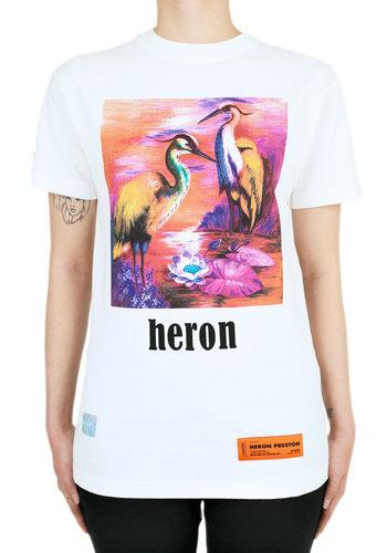 HERON PRESTON prtnd aironi fit s/s white multicolor