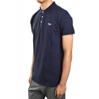 POLO TRICOLOR FOX PATCH NAVY