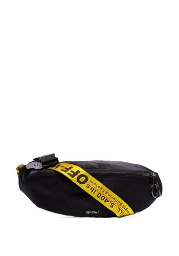 OFF-WHITE basic fannypack black no color