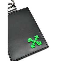 ARROW BADGE HOLDER BLACK GREEN