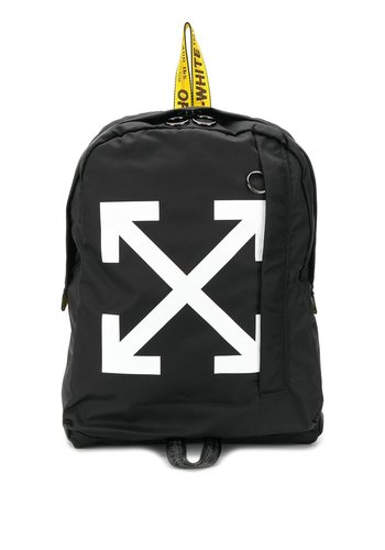 OFF-WHITE easy backpack black white