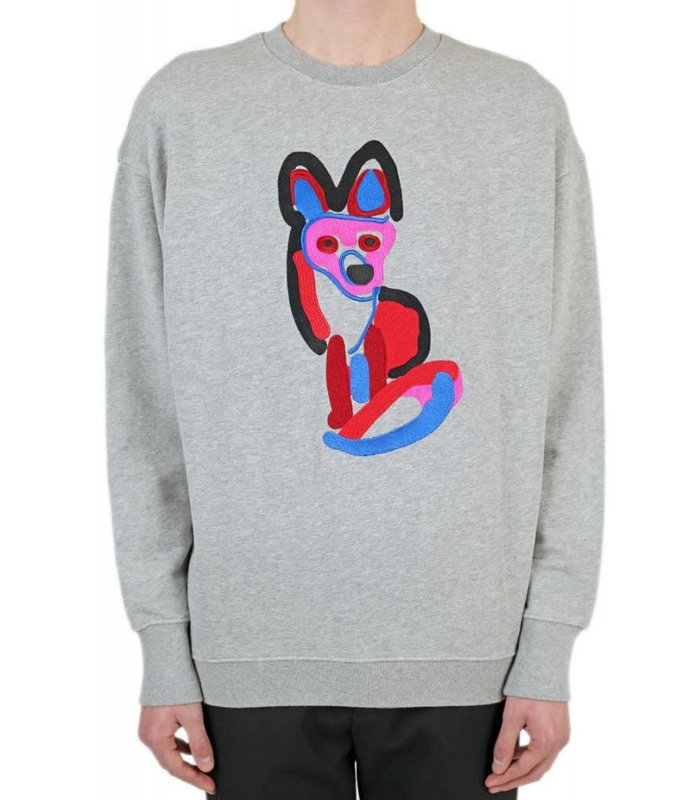 SWEATSHIRT ACIDE FOX EMBROIDERY