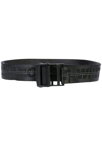 OFF-WHITE industrial belt black no color