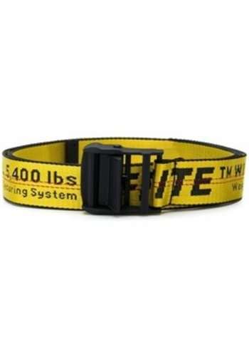 OFF-WHITE industrial belt yellow no color