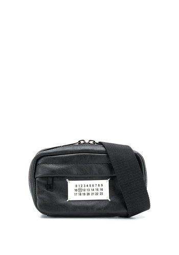 MAISON MARGIELA fanny pack logo black