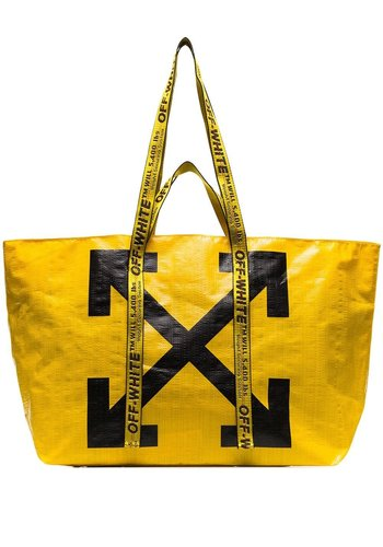 OFF-WHITE new commercial tote yellow black