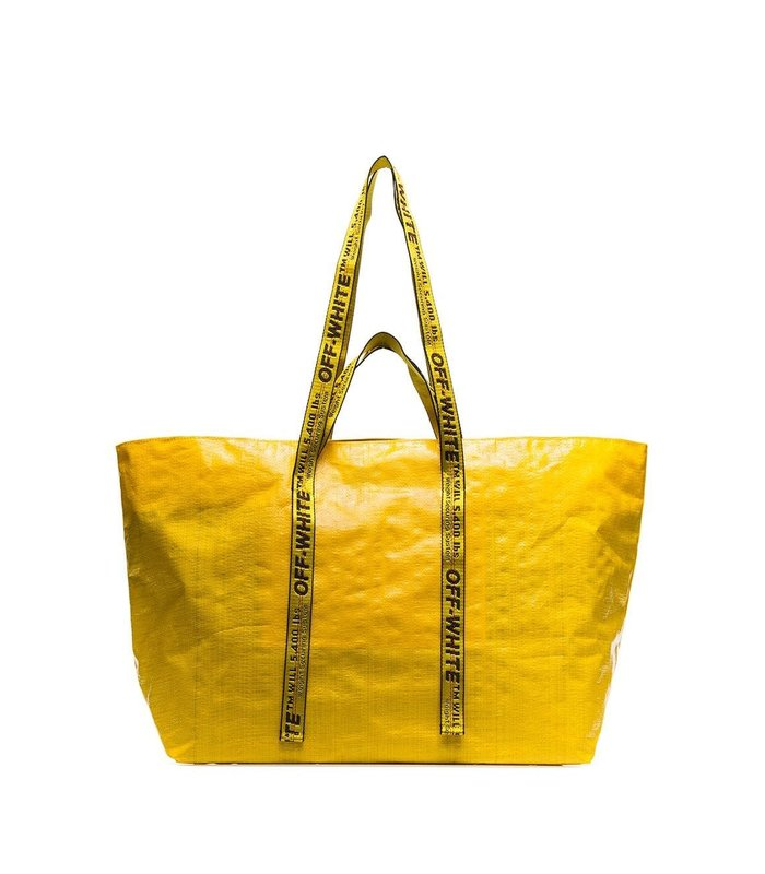 NEW COMMERCIAL TOTE YELLOW BLACK