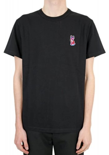 ACIDE MAISON KITSUNÉ t-shirt acide fox patch black