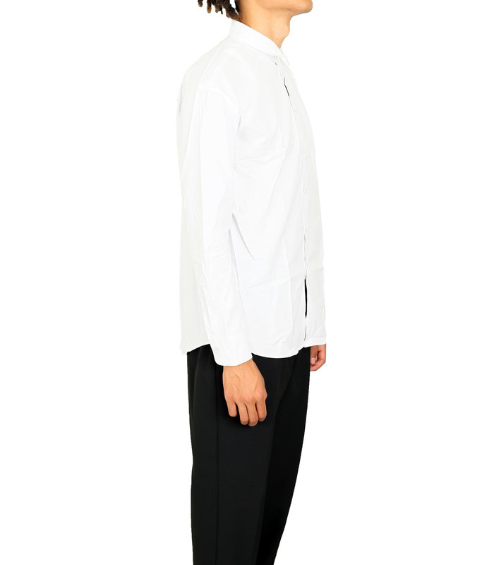 LOGO PRINT SHIRT WHITE
