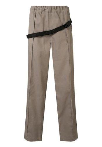 MAISON MARGIELA trousers pocket detail camel