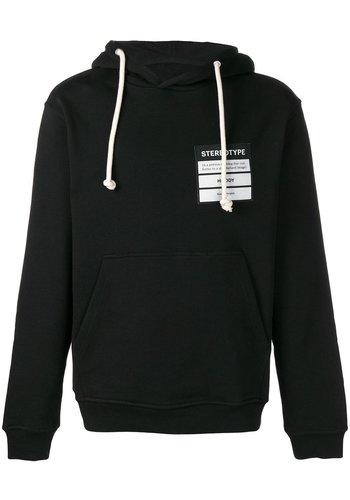 MAISON MARGIELA stereotype hoodie black