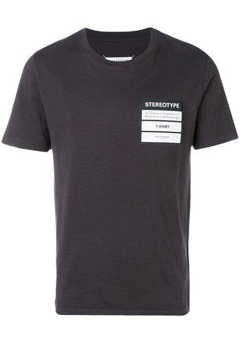 MAISON MARGIELA stereotype t-shirt black