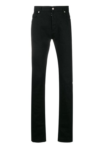 MAISON MARGIELA transparant back pants black