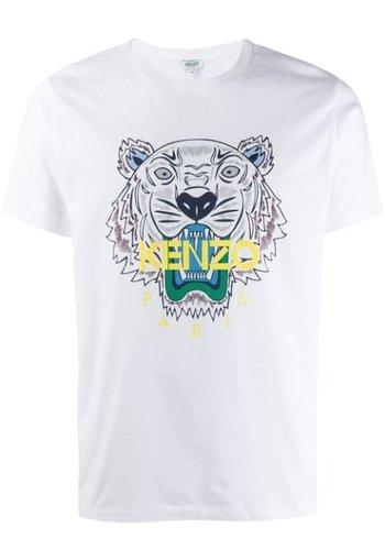KENZO tiger t-shirt white