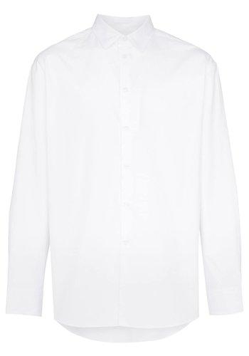 KENZO logo print shirt white
