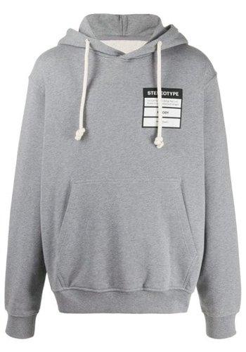 MAISON MARGIELA stereotype hoodie grey