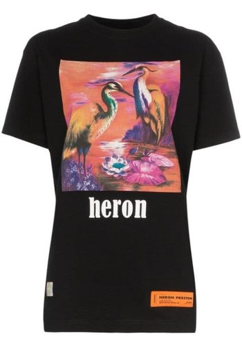 HERON PRESTON prtnd aironi fit s/s black multicolor