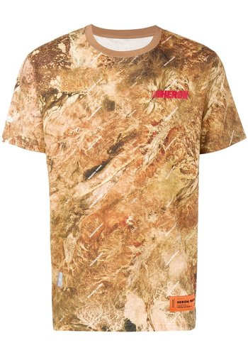 HERON PRESTON t-shirt ss camo heron racing multicolor