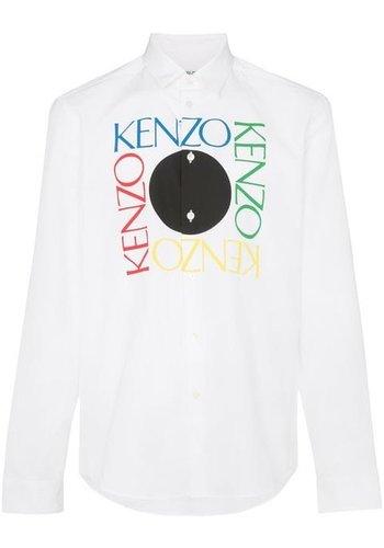 KENZO logo slim fit shirt