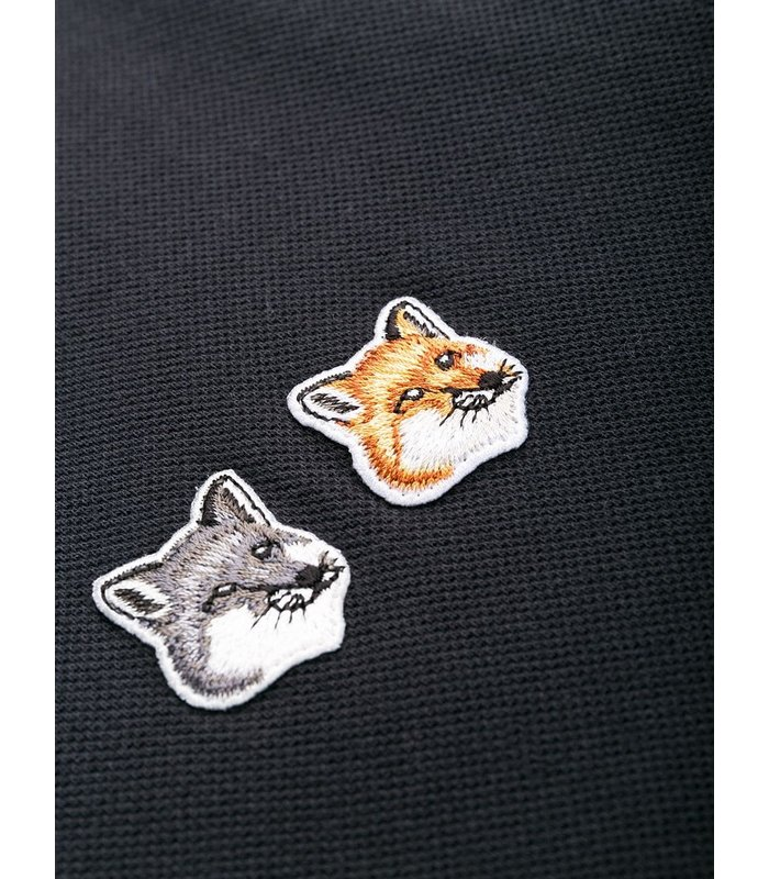 POLO DOUBLE FOX HEAD PATCH ANTHRACITE
