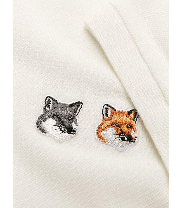 POLO DOUBLE FOX HEAD PATCH LATTE
