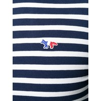 MARIN T-SHIRT TRICOLOR FOX PATCH NAVY/WHITE
