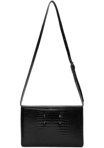 MAISON MARGIELA slingbag black croc