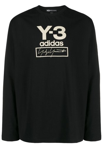 Y-3 stacked ls tee