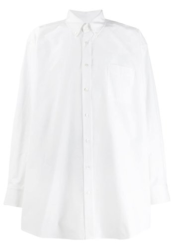MAISON MARGIELA oversized shirt white