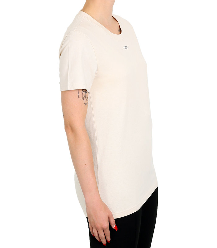 FLOWERS CARRYOVER CASUAL TEE WHITE BORDEAUX