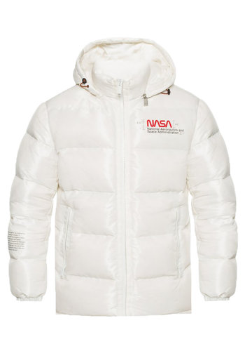HERON PRESTON nasa space jacket off white multicolor